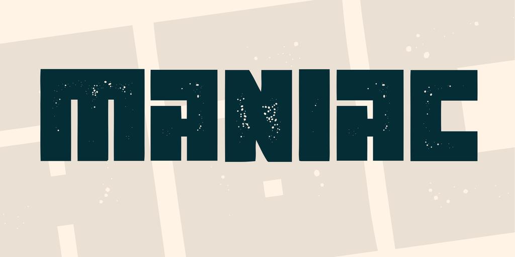 方形字型下載