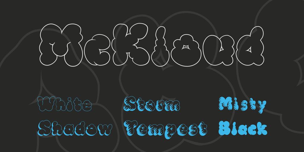 McKloud Font Family 白雲字型下載
