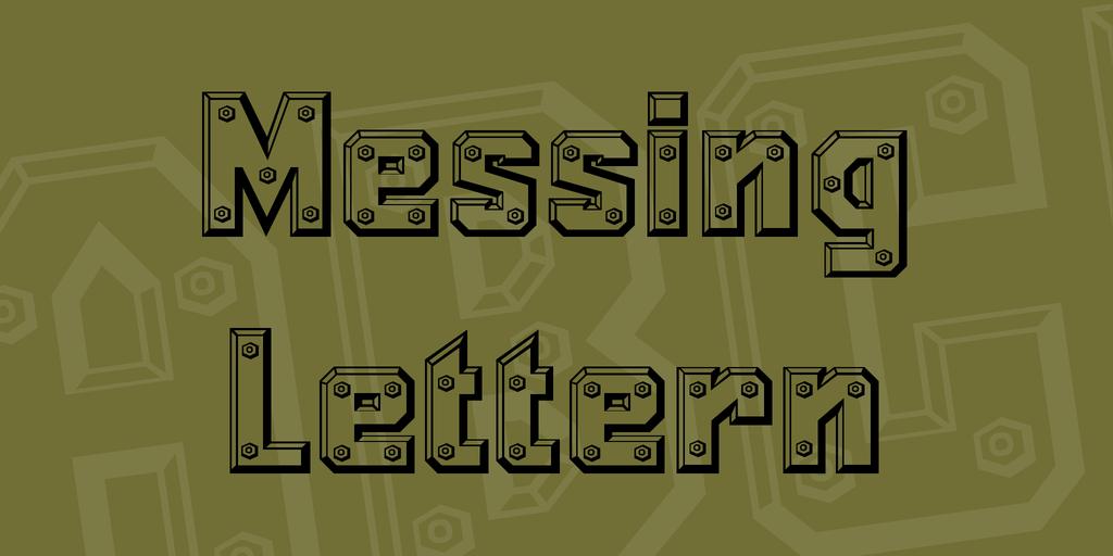 金屬字型下載