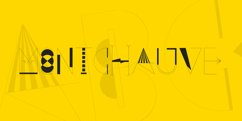 Montchauve Font 美式藝術字型下載