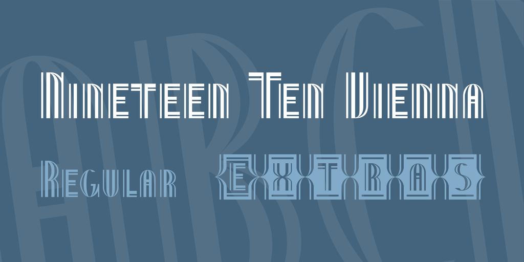 維也納字型下載
