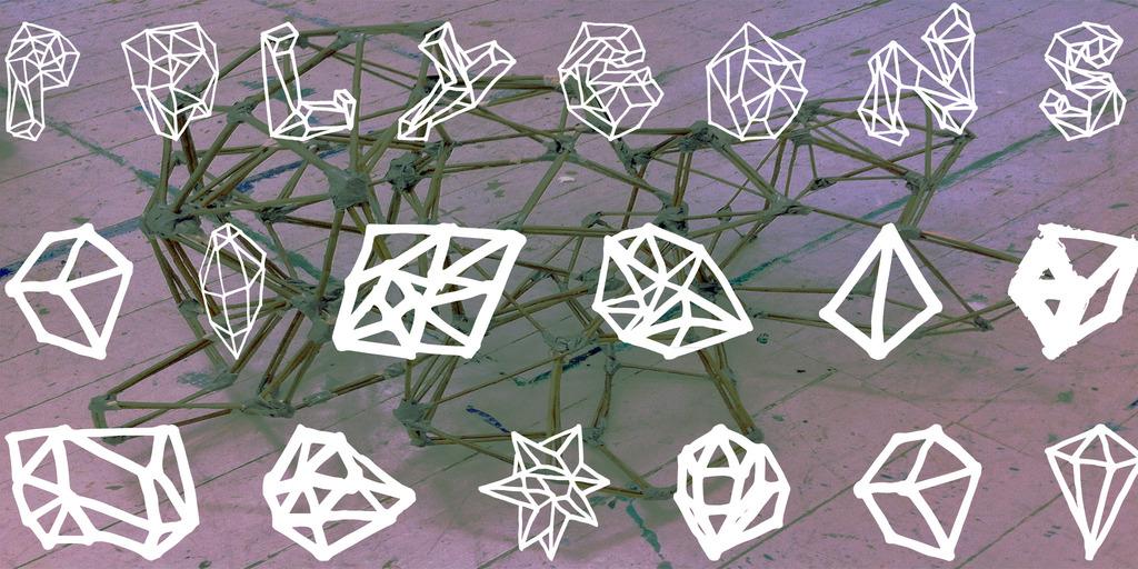 Polygons Font 水晶礦物字型下載
