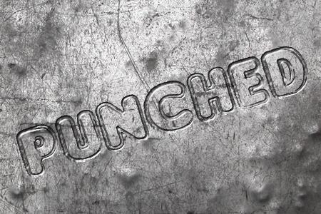 Punched Font 英文雕刻字型下載