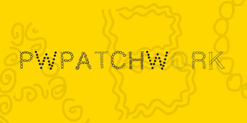 PWPatchwork Font 拼貼字型下載
