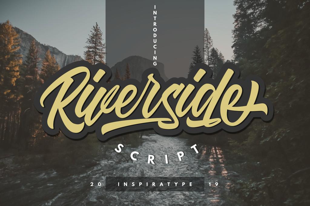 Riverside FREE Font POP字型下載