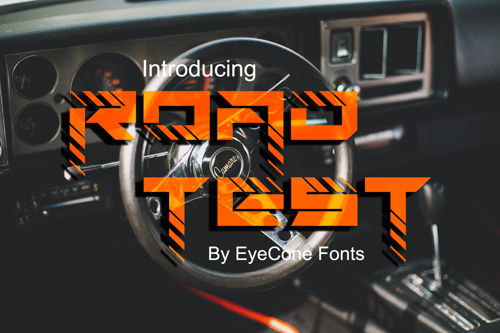 Roadtest Font 施工字型下載