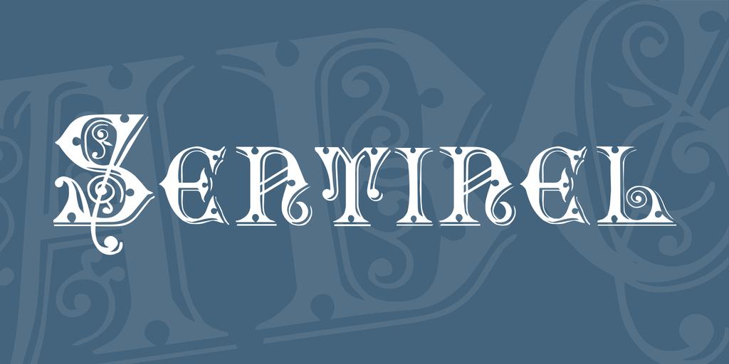 Sentinel Font 復古音樂字型下載