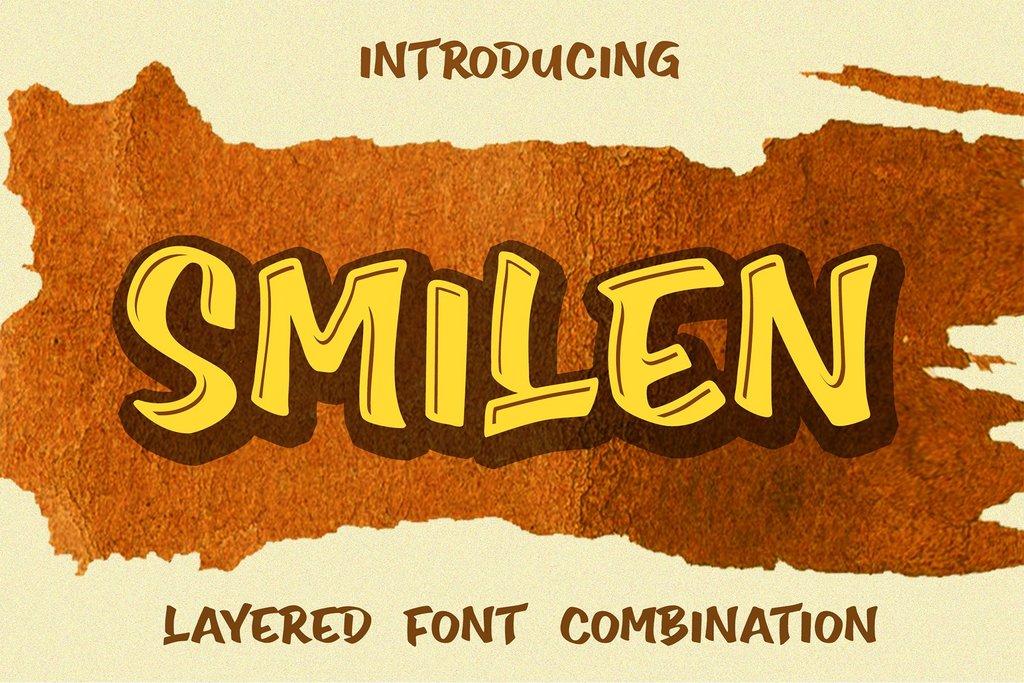 Smilen Font 街頭塗鴉字型下載