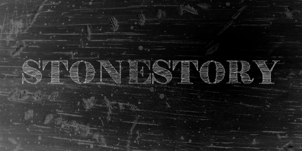 StoneStory Font 刮痕字型下載