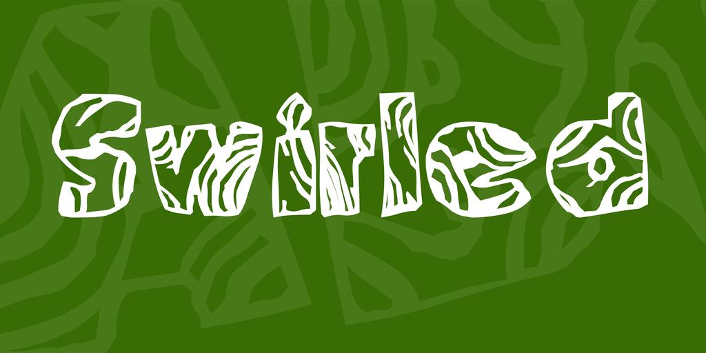 Swirled Font 漩渦字型下載
