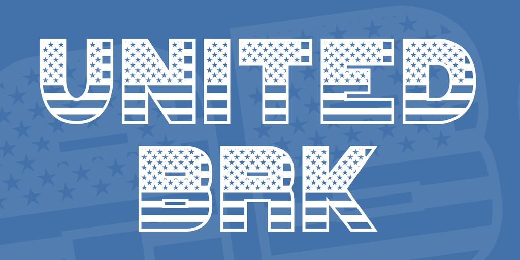 UNITED BRK Font 美國字型下載