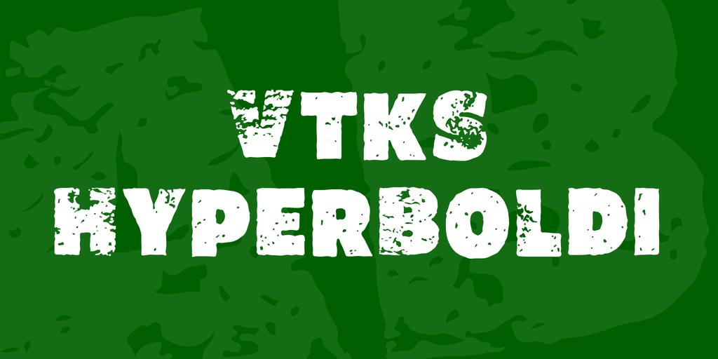 Vtks HyperBoldi Font 復古標題字型下載