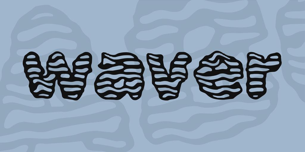 waver Font 波浪字型下載