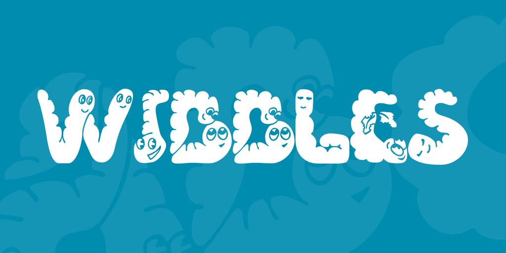 Wibbles Font 蟲蟲字型下載