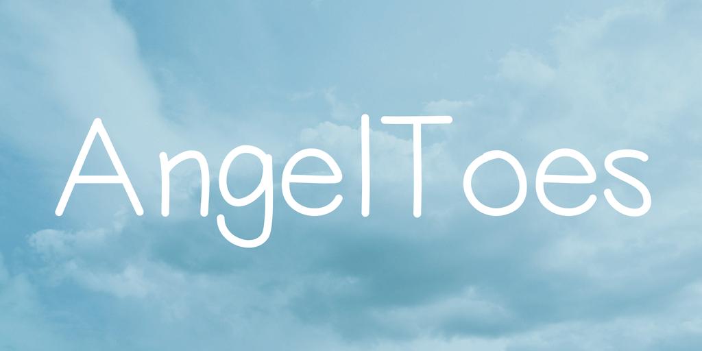 天使 字體下載