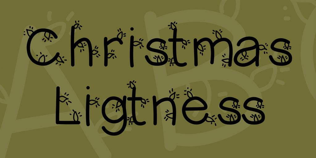 聖誕節 字體下載
