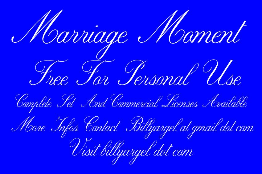 婚紗本 字體下載