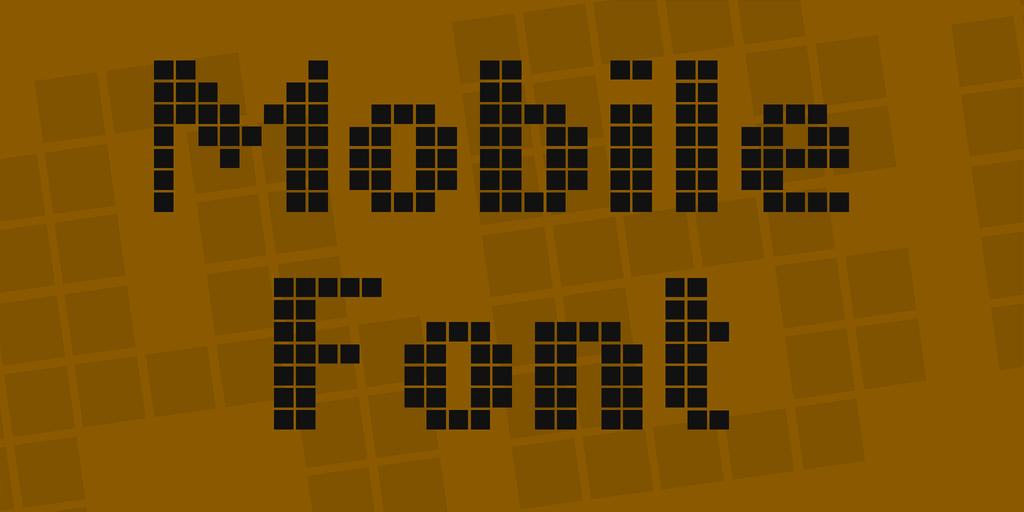 液晶數字字型下載