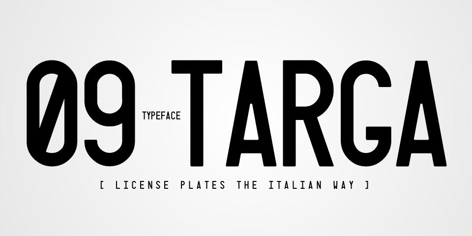 義大利車牌 字體下載
