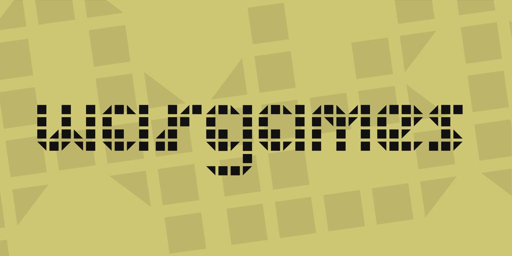 戰爭遊戲 字體下載